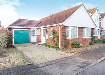 Thumbnail 2 bedroom detached bungalow for sale in Kestrel Drive, Wisbech