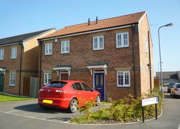 Thumbnail 2 bed semi-detached house to rent in Larpool Close, Hartlepool