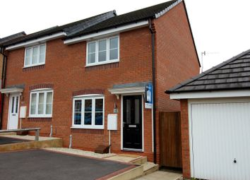 Thumbnail 2 bed semi-detached house for sale in Lamphouse Way, Wolstaton, Newcastle-Under-Lyme