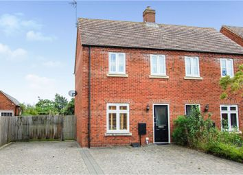 Thumbnail 2 bed semi-detached house for sale in Pearmain Close, Newport Pagnell