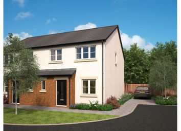 Thumbnail 3 bed semi-detached house for sale in The Green, Carnforth