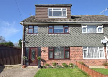 Thumbnail 4 bed semi-detached house for sale in Rosvara Avenue, Chichester, West Sussex