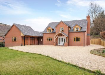 Thumbnail 4 bed detached house for sale in Farrington Lane, Knighton