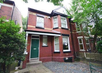 Thumbnail 3 bed semi-detached house to rent in Hough Road, Withington, Manchester, Greater Manchester