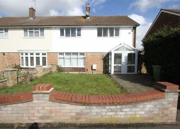 Thumbnail 4 bed semi-detached house to rent in Holden Road, Basildon, Essex