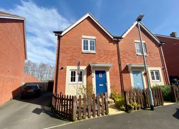 Thumbnail 2 bed semi-detached house for sale in Barrow Close, Salisbury