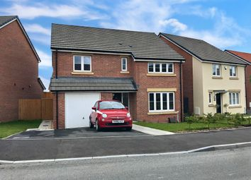 Thumbnail 4 bed detached house for sale in Harlech Road, St Lythans Park, Cardiff