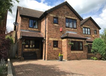 Thumbnail 4 bed detached house for sale in Meridian Way, Stanstead Abbotts, Ware