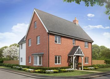 "Thumbnail 4 bed detached house for sale in ""The Copwood"" at Southminster Road, Burnham-On-Crouch"