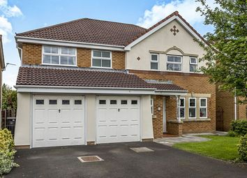 Thumbnail 5 bedroom detached house for sale in Meadows Reach, Penwortham, Preston