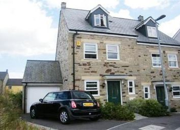 Thumbnail 3 bed semi-detached house to rent in Dartmoor View, Pilmere, Saltash