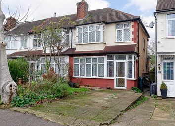 Thumbnail 3 bed end terrace house for sale in Henley Avenue, Cheam, Surrey