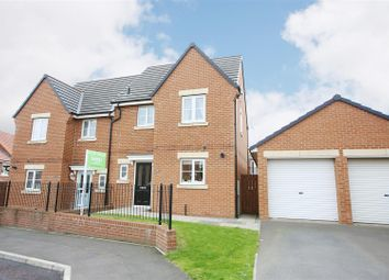 Thumbnail 3 bed semi-detached house for sale in Capheaton Way, Seaton Delaval, Whitley Bay