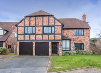 Thumbnail 5 bed detached house for sale in Pine Close, Shottery, Stratford-Upon-Avon