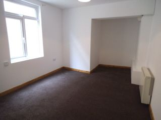 Thumbnail 1 bed flat to rent in Nolton Street, Bridgend