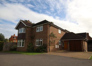 Thumbnail 4 bed detached house to rent in Wargrave Road, Twyford