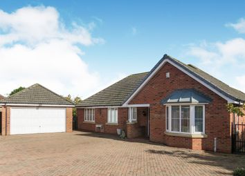 Thumbnail 3 bed detached bungalow for sale in East Lane, Sigglesthorne, Hull