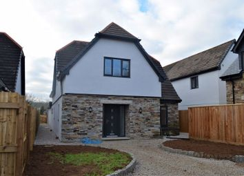 Thumbnail 5 bed detached house for sale in Polscoe, Lostwithiel