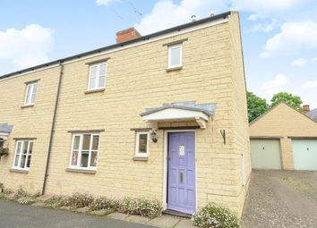 Thumbnail 3 bed semi-detached house for sale in Middle Barton, Oxfordshire