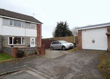 Thumbnail 3 bed semi-detached house for sale in Smalley Croft, Penwortham, Preston