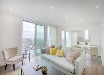 Thumbnail 2 bed flat to rent in Pinto Tower, Nine Elms Point, 4 Hebden Place, Vauxhall