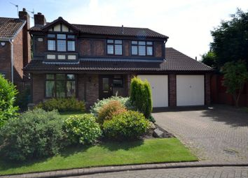 Thumbnail 4 bed detached house for sale in Coverdale Close, Great Sankey, Warrington