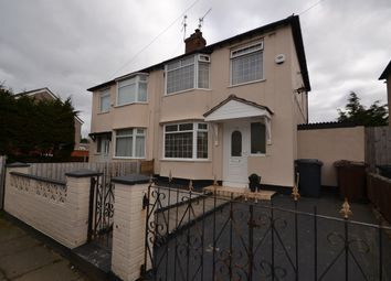 Thumbnail 3 bedroom semi-detached house for sale in King Avenue, Bootle