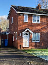 Thumbnail 2 bedroom semi-detached house to rent in Moor Park, Perton, Wolverhampton