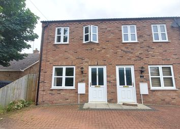 Thumbnail 3 bed semi-detached house for sale in Burnt House Road, Whittlesey, Peterborough
