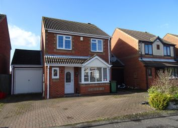 Thumbnail 3 bed detached house for sale in Blackett Drive, Heather, Leicestershire