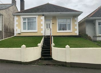 Thumbnail 3 bed detached bungalow for sale in Wellington Road, St Dennis, St Austell, Cornwall