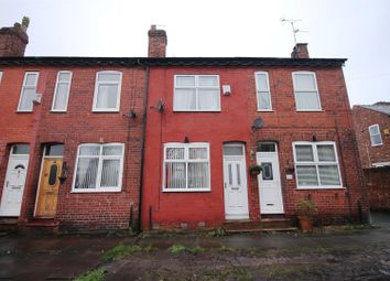 Thumbnail 2 bed terraced house for sale in Brighton Grove, Urmston, Manchester