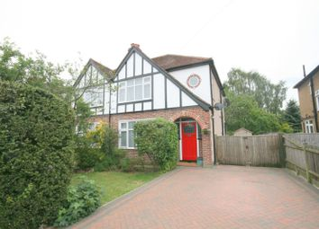 Thumbnail 3 bed semi-detached house to rent in Ruxley Lane, West Ewell, Epsom