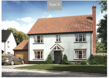 Thumbnail 4 bed detached house for sale in Plot 12 Kell's Meadow, Geldeston, Beccles