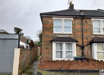 Thumbnail 3 bed end terrace house for sale in Cecil Road, Gravesend