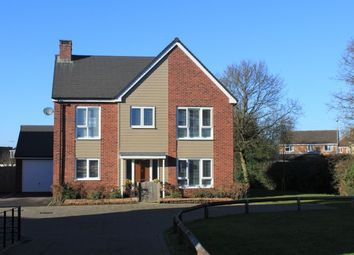 Thumbnail 4 bed detached house for sale in Larch Drive, Ravenstone, Coalville