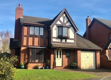 Thumbnail 4 bed detached house for sale in Yew Tree Court, Alsager, Stoke-On-Trent, Cheshire
