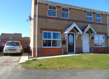 Thumbnail 3 bed semi-detached house for sale in Uplands Close, Crook, County Durham