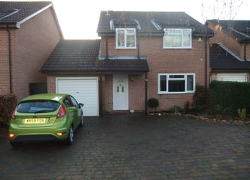 Thumbnail 4 bed detached house to rent in Jeffries Close, Rownhams, Southampton