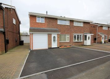 Thumbnail 3 bed semi-detached house for sale in Kempton Grove, Cheadle, Stoke-On-Trent