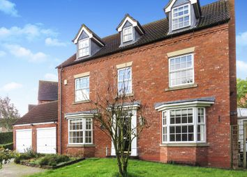 Thumbnail 5 bedroom detached house for sale in Woburn Close, Strensall, York