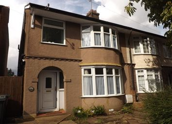 Thumbnail 3 bed semi-detached house to rent in Compton Avenue, Leagrave, Luton