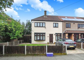 Thumbnail 3 bedroom end terrace house for sale in Bastable Avenue, Barking
