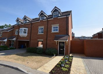 Thumbnail 3 bed town house for sale in Poulter Place, Church Crookham, Fleet
