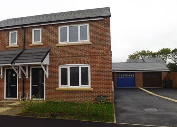 Thumbnail 3 bed semi-detached house to rent in Cave Crescent, Coalville
