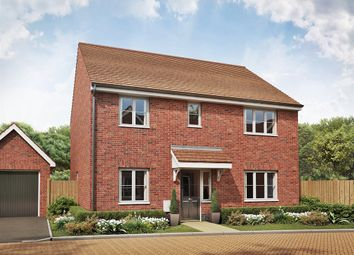 "Thumbnail 4 bed detached house for sale in ""The Marlborough "" at Folly Lane, Hockley"