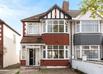 3 bed semi-detached house for sale in The Fairway, Palmers Green, London N13