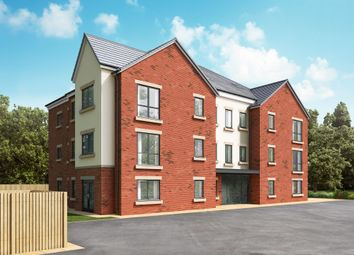 Thumbnail 2 bedroom flat for sale in Off Great North Road, Morpeth, Northumberland