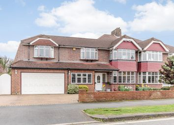 Thumbnail 4 bed semi-detached house for sale in Stoneleigh Park Road, Epsom, Surrey