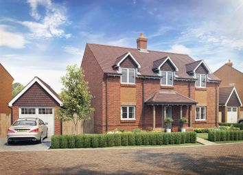 Thumbnail 4 bed detached house for sale in Lovedean Lane, Lovedean, Hampshire